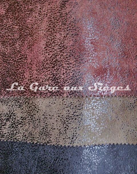 Tissu imitation cuir casal cuir vieilli r f 5080 vente en ligne la ga - Tissus imitation cuir vieilli ...