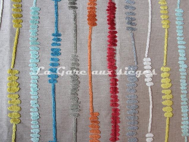 Tissu deschemaker velours santa f r f 103869 vente for Tissus ameublement velours motif