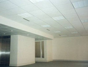 Plafond rayonnant modulaire prm modisol le confort invisible scer - Chauffage rayonnant plafond ...