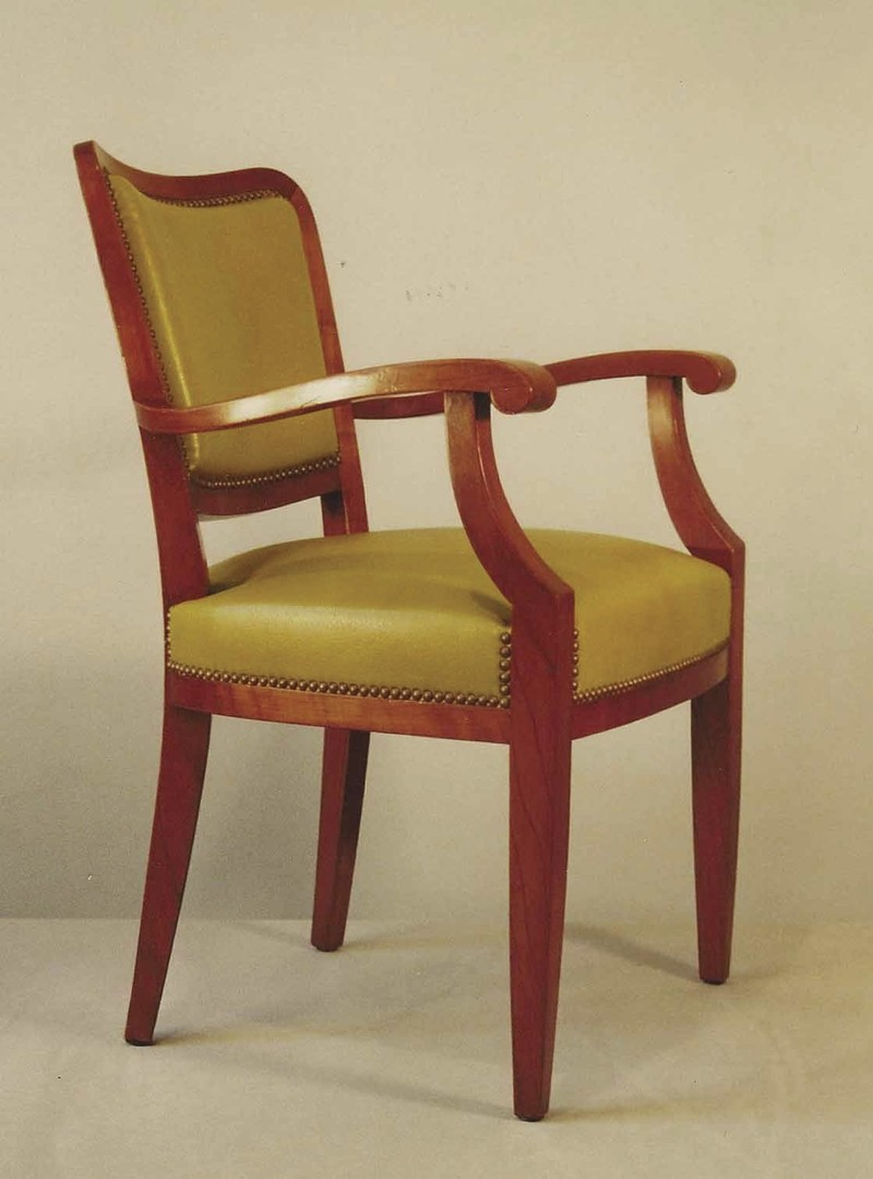 fauteuil de bureau des ann es 20 dit par pander pi ce unique la gare aux si ges. Black Bedroom Furniture Sets. Home Design Ideas